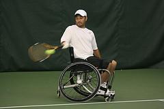 Paralympics Wheelchair Tennis