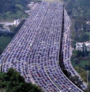 gridlock, traffic