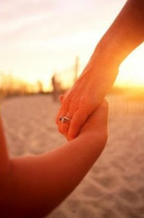 Mother-and-Daughter-Holding-Hands-Photographic-Print-C11864029