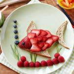 Strawberry fish
