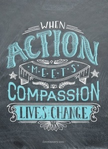 action meets compassion